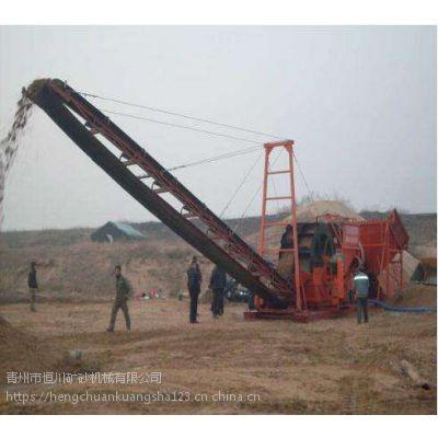 潍坊大型洗沙机 四川轮式双排洗砂机坚固耐用hc