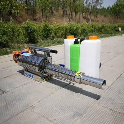 大棚用手提式喷雾器 轻便版汽油脉冲式弥雾机 耐用烟雾水雾机