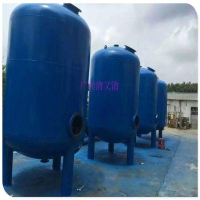 台山市污水专用过滤罐 清又清立式Q235碳钢水处理罐体