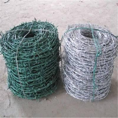 防盗刺线 铁丝刺线 刺绳围栏