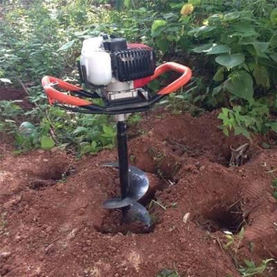 大功率四冲程钻洞机 手提式园林打坑机 单人操作挖坑机