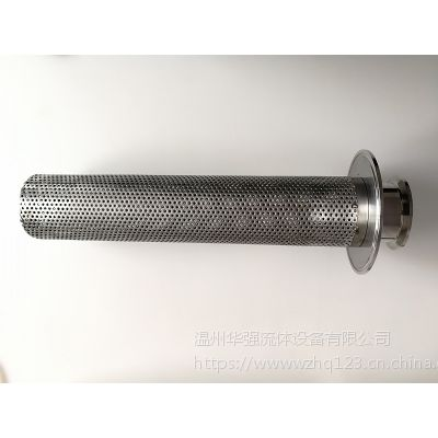 华强生产厂家 直通过滤器 固液分离器