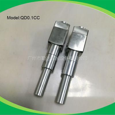 深圳供应勤达专业0.1CC点胶机螺杆泵泵头