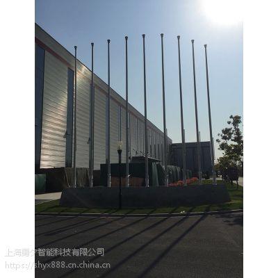 上海旗杆安装,伸缩门安装