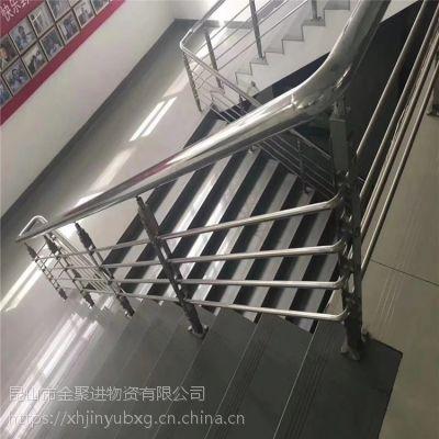 金聚进 厂家定制阳台玻璃栏杆 304不锈钢楼梯立柱 设计制作安装 环保无污染