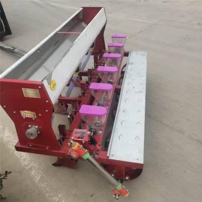 武汉市单双粒花生精播机 富兴手扶车牵引式花生点播机 韭菜油菜精播机 机械