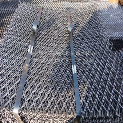 万泰钢板拉伸网 钢板网钢笆片 菱型建筑脚手架踏板
