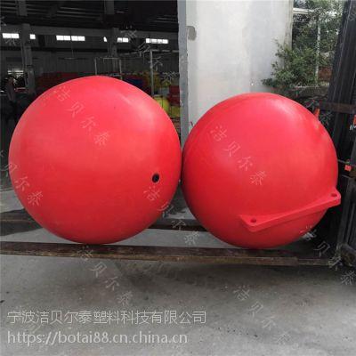 大尺寸海上警示浮鼓1米聚乙烯浮球规格