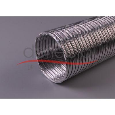 全国供应 耐高温铝箔硬管 波纹可伸缩管 通风设备通风管道