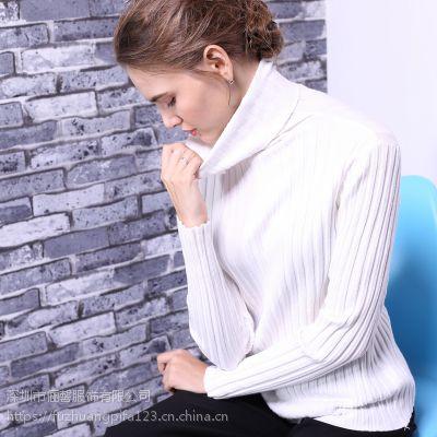 深圳新款女士春装针织连衣裙 必备百搭款