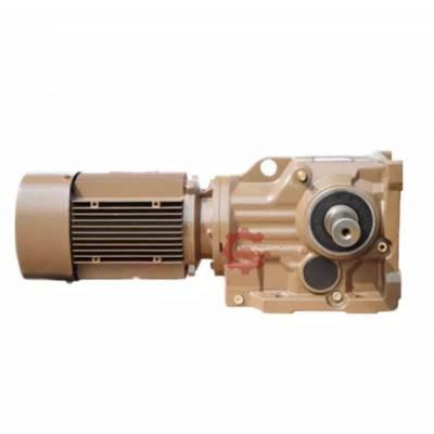 沃旗齿轮减速机电机K57-Y3-4P-30.28-M6-A-270°硬齿面减速器变速箱