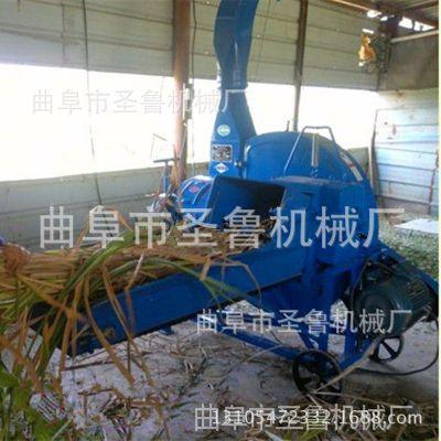 圣鲁大型青贮铡草机 菏泽玉米秸切段机