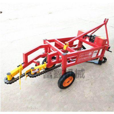 拖拉机带动花生收获机 手扶车花生收获机多少钱