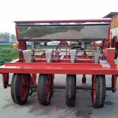 甘肃省拖拉机带菜籽精播机 启航油菜播种机 谷子播种机价格