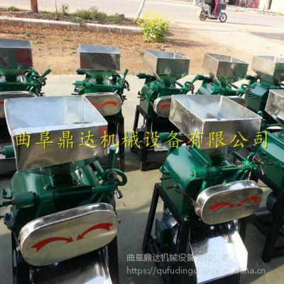 小麦豆扁机 报价 商用黄豆小麦粮食挤扁机 蚕豆轧扁机