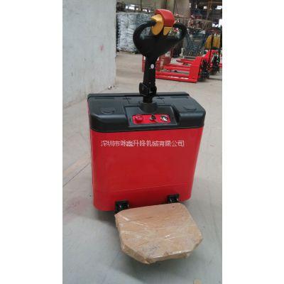 2吨鸿福电动叉车,全电动自走式拖板车D2001