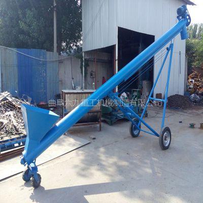 泥土螺旋上料机 六九长度可定制圆管螺杆提料机厂家