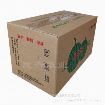上海民青纸业 杨浦纸箱厂 纸箱纸盒 三层瓦楞纸板