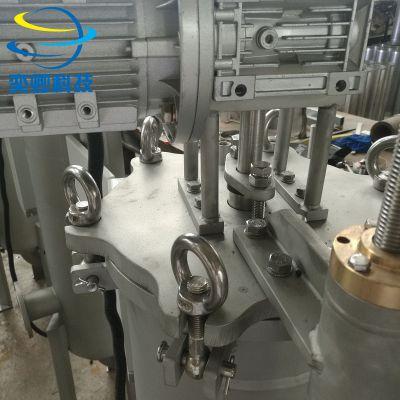 刮刀自清洗过滤器 不锈钢 高粘度过滤 涂料 油漆 大小可定制 YQSCGD273PS304 大流量