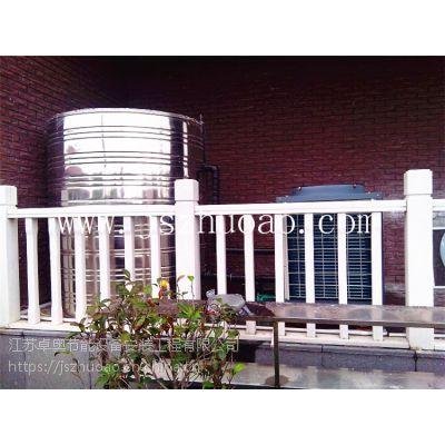 江苏卓奥为金坛农家乐安装5匹奥栋空气能热水项目