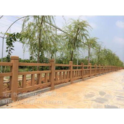 深圳仿玉栏杆|人造仿木护栏制作公司