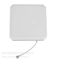 UHF圆极化天线增益9DBi正方形天线通道读写器天线超高频RFID天线
