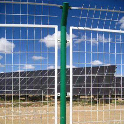 专业铁丝网围栏 绿色方孔网现货 甘肃高速公路防护围网