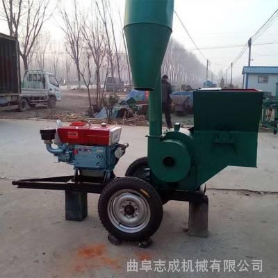 加工定制各种型号粉碎机 养殖用秸秆粉碎机 大型沙克龙稻草打糠机