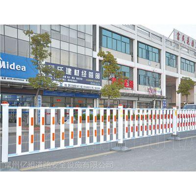 菱形防眩光隔离市政道路护栏,防跨护栏,花式锌钢栏杆,发光护栏
