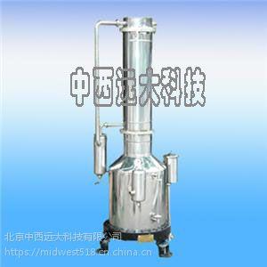 不锈钢塔式重蒸馏水器中西(100L/H) 型号:DD15-206637