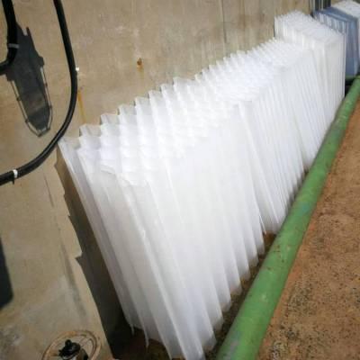 蓝宇蜂窝斜管厂家 填料焊接沉淀池填充物,整体工程承接