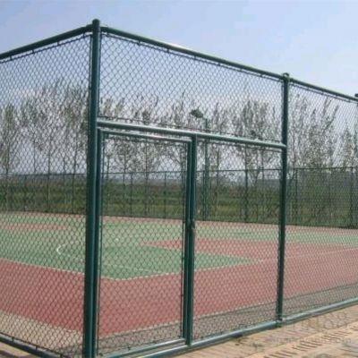 【正南】浸塑 郑州体育场围网 球场围栏生产厂家