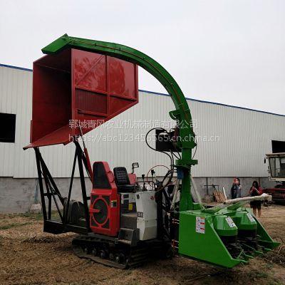 养殖饲料回收机 自走式粉碎青储机 饲料粉碎收获机 养殖业机械