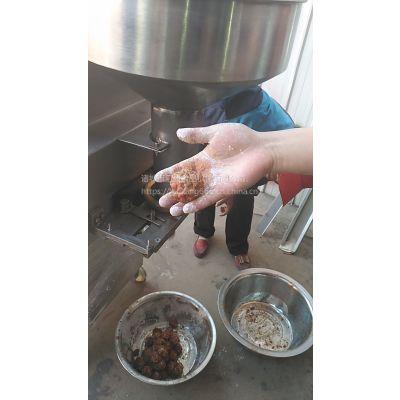 大肉块丸子机 纯肉圆子成型机 水煮鱼丸机 厂家优惠