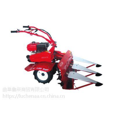 批发鲁辰LC-SK小型手推割晒机 农用小麦水稻牧草收割机