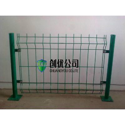 【厂家供应】铁丝围栏,公路护栏网,圈地双边丝护栏
