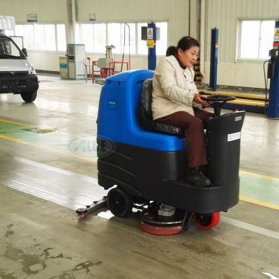 泰安电瓶式全自动洗地机价位,莱芜驾驶式电瓶洗地机