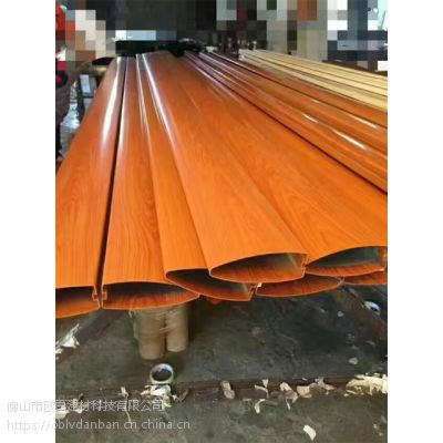 挤压型材铝方管规格图 中山防火4D木纹铝方通颜色品种齐全 欧百得