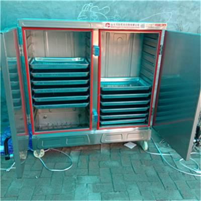 山东乐旺炊事厨房设备长期供应蒸馒头设备 蒸汽蒸房蒸车 双门蒸饭柜 推车米饭蒸箱低价出售