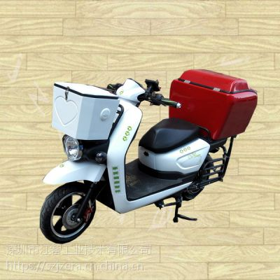 供应江智迪拜客户订购江智配送箱送货箱储运箱三轮车电动车摩托车后备箱后尾箱