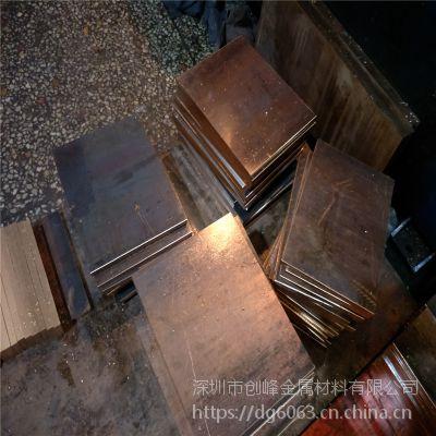东莞c17200铍铜棒现货直销 高弹性铍铜带 C17500铍钴铜板 可切割加工