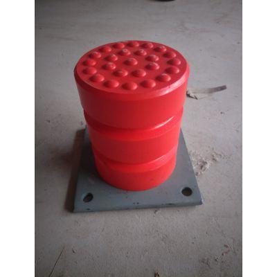 钢板缓冲器 JHQ-C-10聚氨酯缓冲器 橡胶碰头器 减震器 宏昌