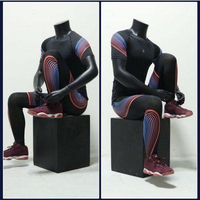 出售定制运动坐姿模特道具