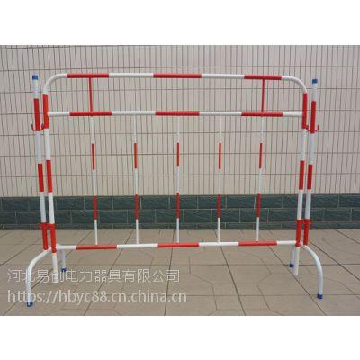 玻璃钢片式伸缩围栏 玻璃钢管式伸缩围栏 台州绝缘伸缩围栏厂家