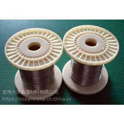 大洋金属高强度钛线,GR5钛丝,截面尺寸0.8mm