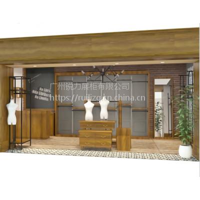 广州锐力展柜 供应女装展示台 可整店定制