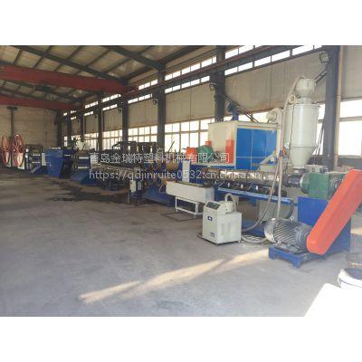 pet圆丝生产线 塑料扁丝生产机器设备厂家