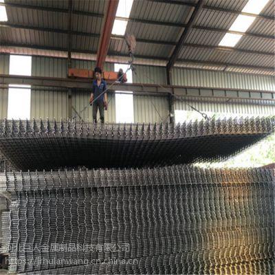 巨人建筑网片 低碳钢丝焊接网 黑丝焊接钢筋网片 建筑工地浇筑网片