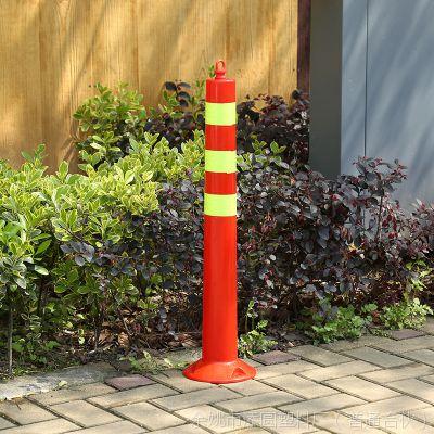 厂家热销塑料警示柱反光立柱防撞柱道路弹力警示路桩交通设施