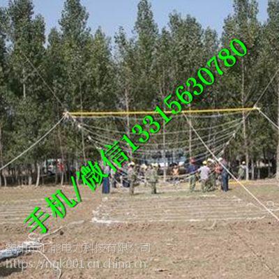 高空攀爬跨越绝缘跨越网 迪尼玛封网 迪尼玛带电作业索桥 汇能